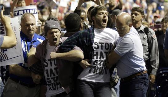 Trump-protest